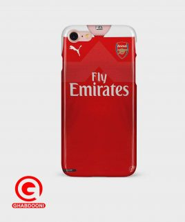 خرید قاب موبایل با طرح لباس اول آرسنال ۲۰۱۹